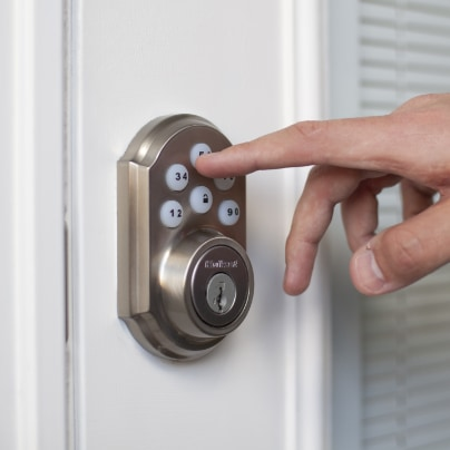 Long Beach smartlock adt